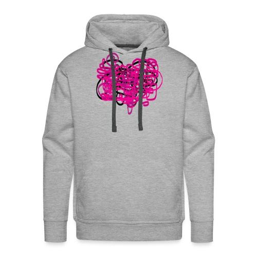 delicious pink - Men's Premium Hoodie