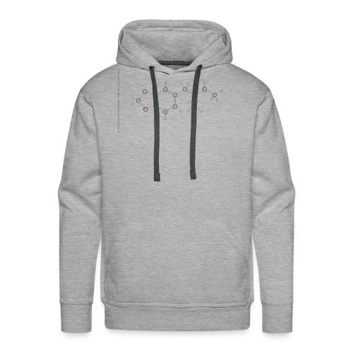 Molecuul MDMA - 'Where is Molly?' - Mannen Premium hoodie