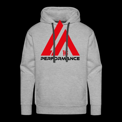 LA Performance red/black - Männer Premium Hoodie