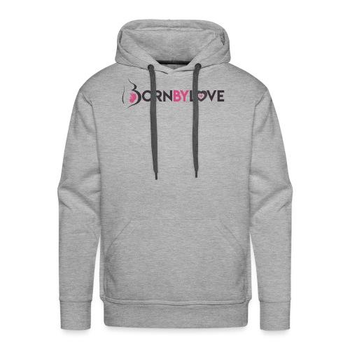Born By Love - Sweat-shirt à capuche Premium pour hommes