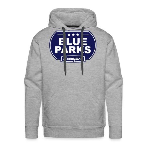 blueparks black white - Premiumluvtröja herr