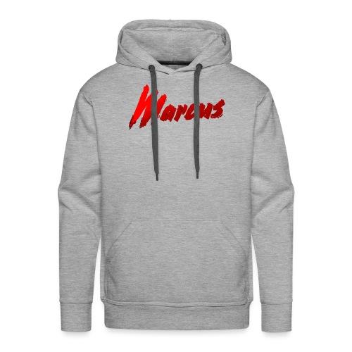Marcus stile - Felpa con cappuccio premium da uomo