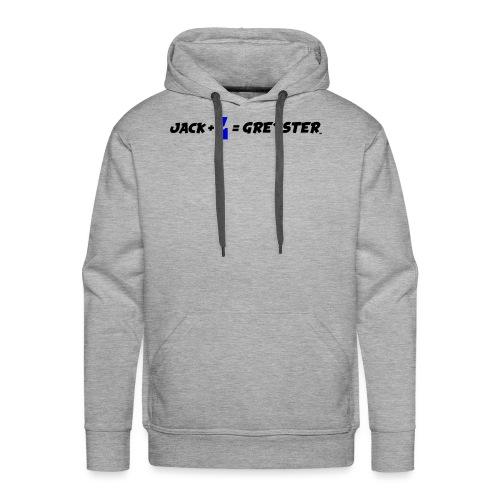 jack + = greyster - Sweat-shirt à capuche Premium pour hommes