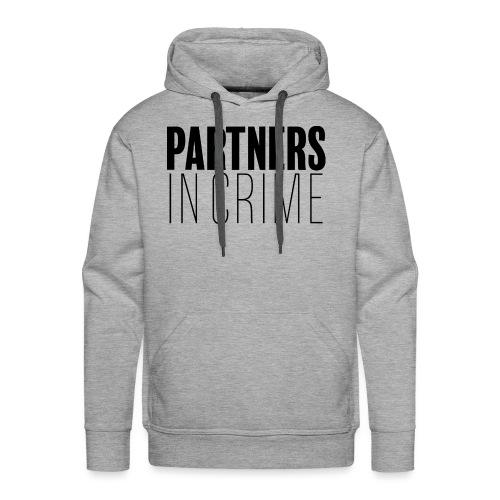 Partenaires du crime - Sweat-shirt à capuche Premium pour hommes