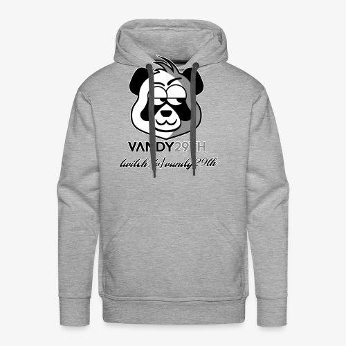 panda black - Men's Premium Hoodie
