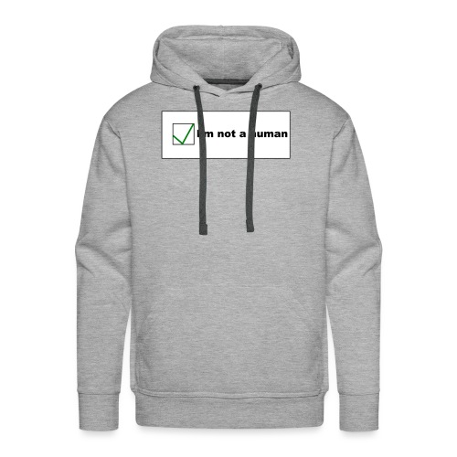 Human Captcha - Männer Premium Hoodie