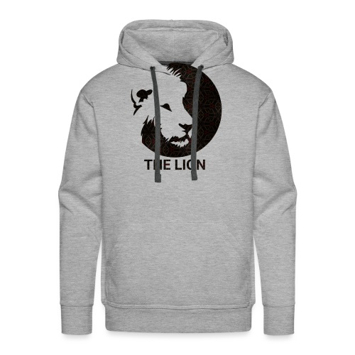 THE LION Basic/Logo - Männer Premium Hoodie
