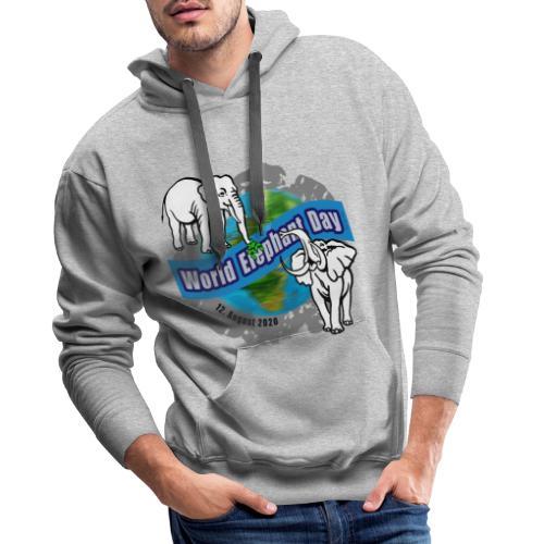 World Elephant Day 2020 - Männer Premium Hoodie