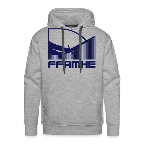 ffamhe 32c vintage - Sweat-shirt à capuche Premium pour hommes