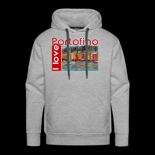 I love Portofino. Italy. - Männer Premium Hoodie
