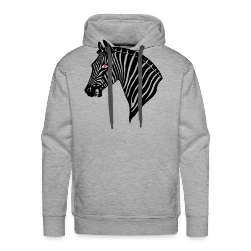 Evil Zebra - Männer Premium Hoodie