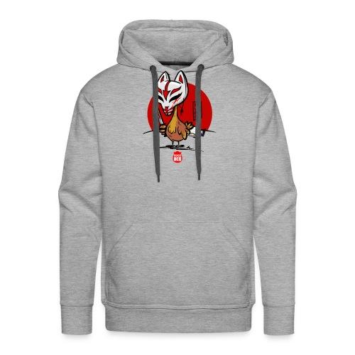 BeVegeOr ... chickenwar - Men's Premium Hoodie