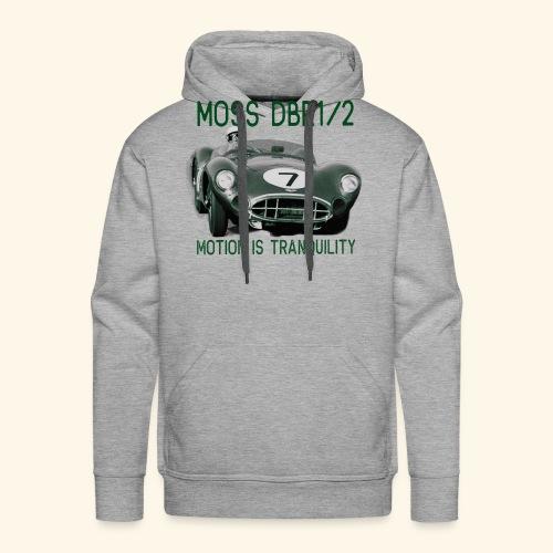 Motion Is Tranquility Moss DBR1 Tee - Men's Premium Hoodie