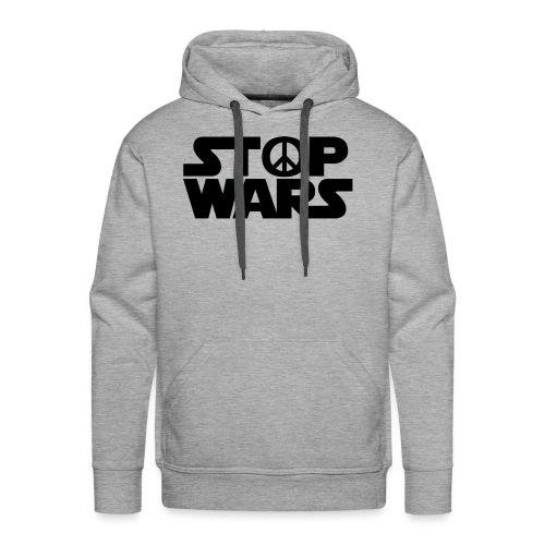 Stop Wars - Sweat-shirt à capuche Premium pour hommes