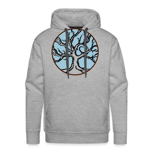 Lebensbaum Keltischer Baum mit Herz - Männer Premium Hoodie