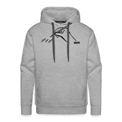Culture contre Culture par petitecaillou - Sweat-shirt à capuche Premium pour hommes