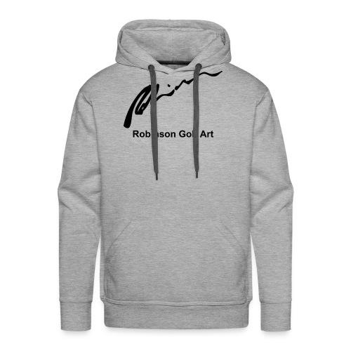 Robinson Black Logo - Men's Premium Hoodie