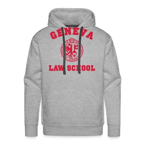 Geneva Law School - Sweat-shirt à capuche Premium pour hommes
