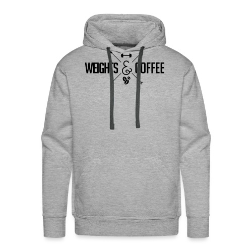 Weights Coffee black - Männer Premium Hoodie