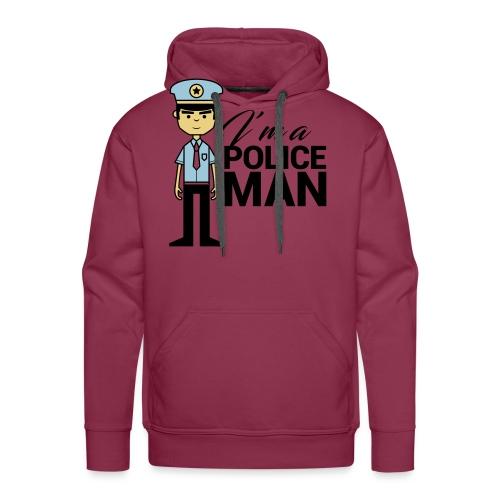 POLICEMAN - Felpa con cappuccio premium da uomo