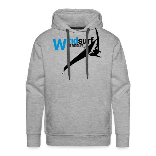 Windsurf - Felpa con cappuccio premium da uomo