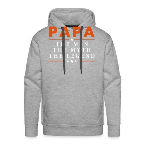 PAPA THE LEGEND - Men's Premium Hoodie