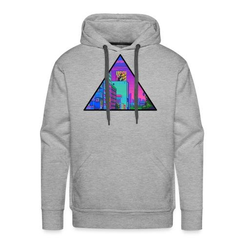 Pixel Street - Men's Premium Hoodie