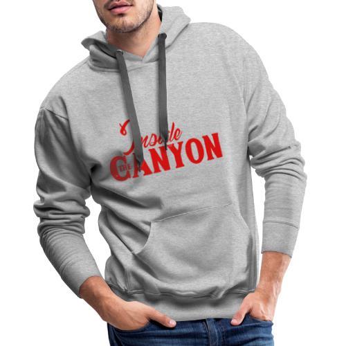 CANYON - Sweat-shirt à capuche Premium pour hommes