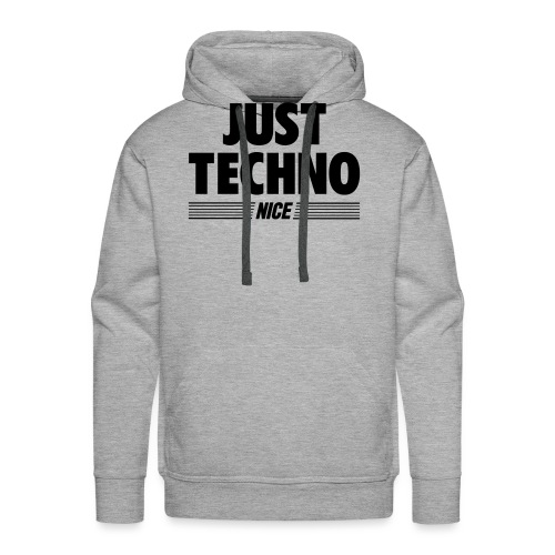 Just techno - Men's Premium Hoodie