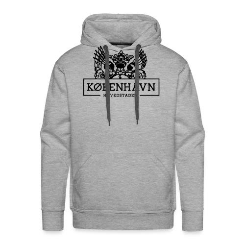 KØBENHAVN - Herre Premium hættetrøje