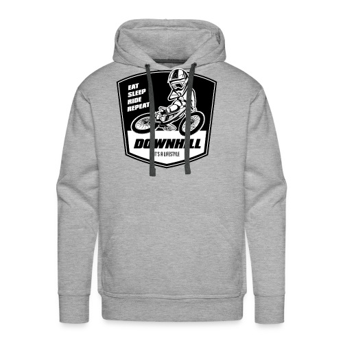 Downhill Freeride - Eat Sleep Ride Repeat - Männer Premium Hoodie