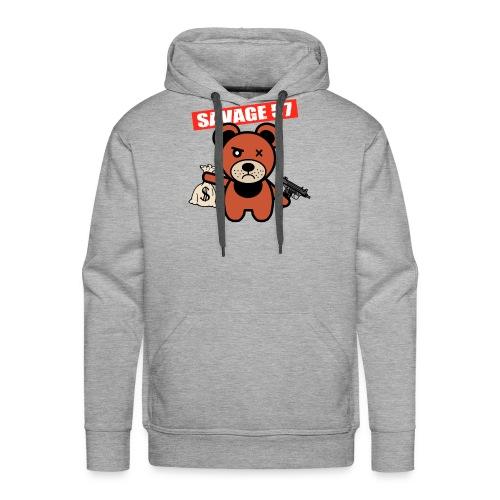 Savage 57 - Sweat-shirt à capuche Premium pour hommes