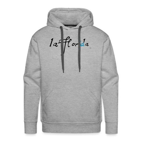 logo laflorida - Sudadera con capucha premium para hombre