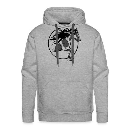 Irish cob - Sweat-shirt à capuche Premium pour hommes