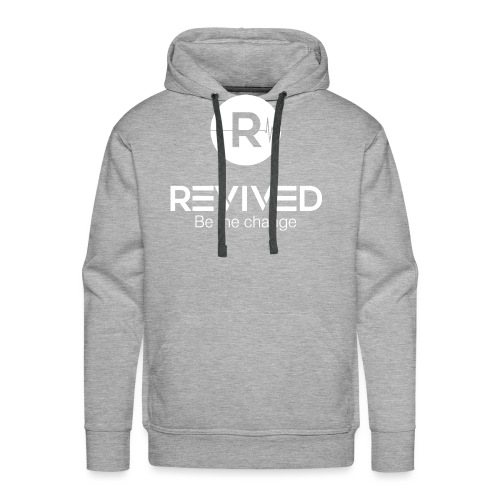 Revived Be the change - Men's Premium Hoodie