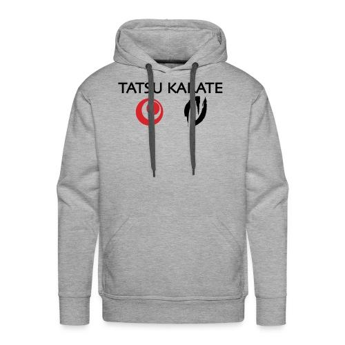 Tatsu Karate med två logo - Premiumluvtröja herr