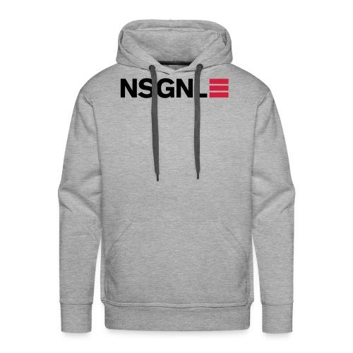 nsgnl design red - Men's Premium Hoodie