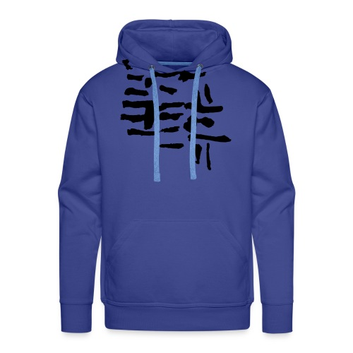 Structure / VINTAGE abstract - Men's Premium Hoodie