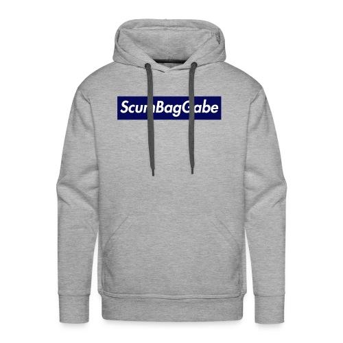 ScumBagGabe Blue XL Logo - Men's Premium Hoodie