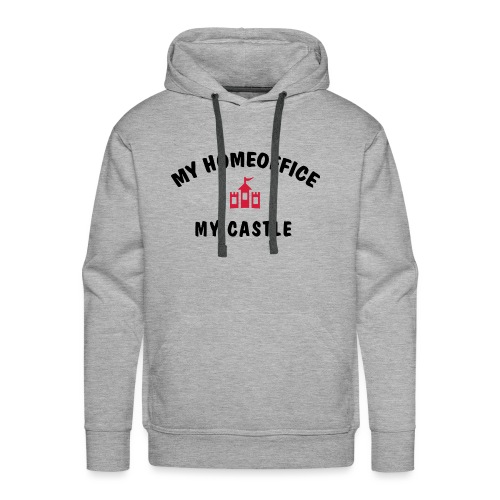 MY HOMEOFFICE MY CASTLE - Männer Premium Hoodie