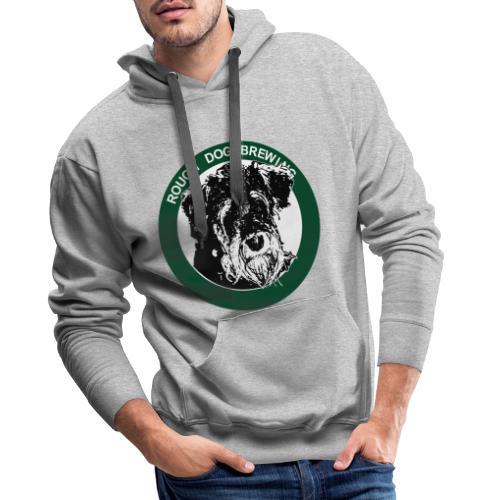 Rough Dog Brewing 2019 logotype - Premiumluvtröja herr