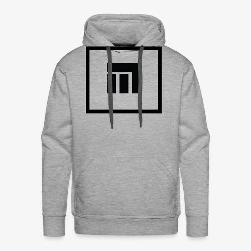 Logo Malecka Grand - Sweat-shirt à capuche Premium pour hommes