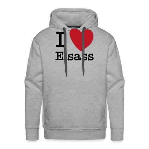 love elsass - Sweat-shirt à capuche Premium pour hommes