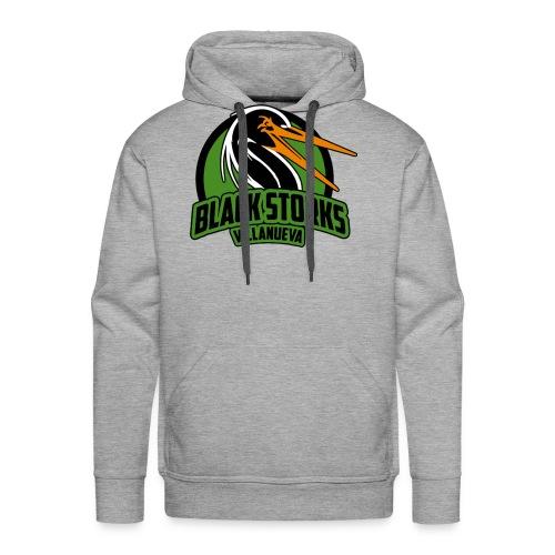 Camiseta Basica BlackStorks - Sudadera con capucha premium para hombre