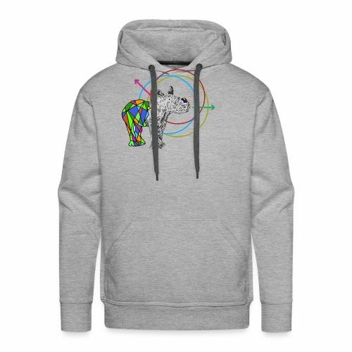 Bébé rhinocéros - Sweat-shirt à capuche Premium pour hommes