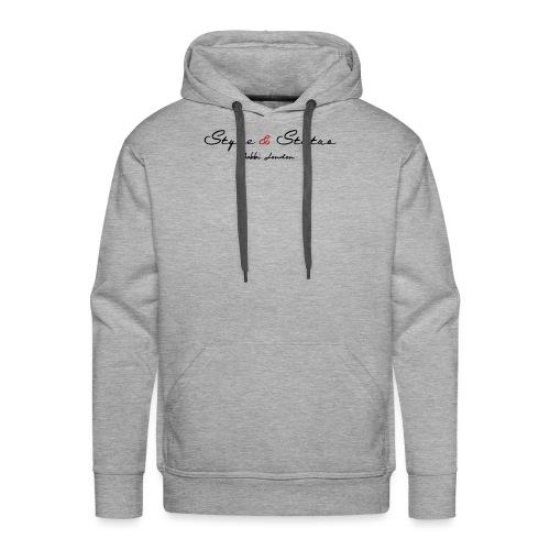Style & Status - Men's Premium Hoodie