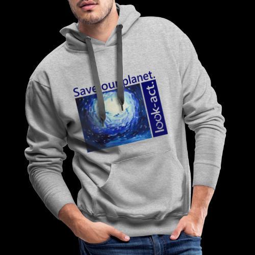 Save our planet. Unterwasserwelt. - Männer Premium Hoodie