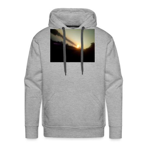 the morning - Mannen Premium hoodie