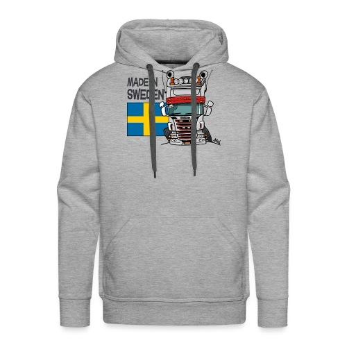 Made in Sweden - Mannen Premium hoodie