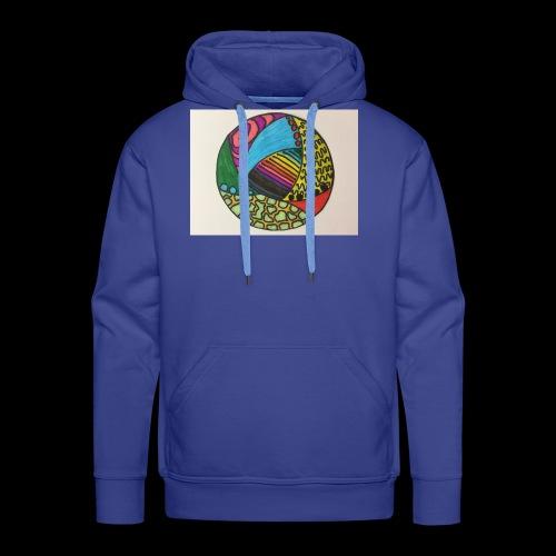 circle corlor - Herre Premium hættetrøje